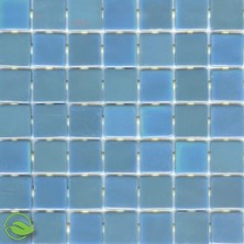 Modwalls Viridian Pearl Mirage Recycled Glass Tile