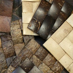Kirei Sumatra Coconut Shell Tiles